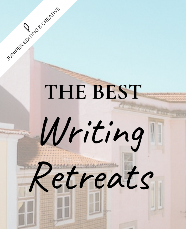 Graphic promoting A Writer Within's inclusion on a list of the Best Writing Retreats.